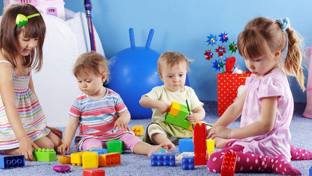 ילדים בגן ילדים