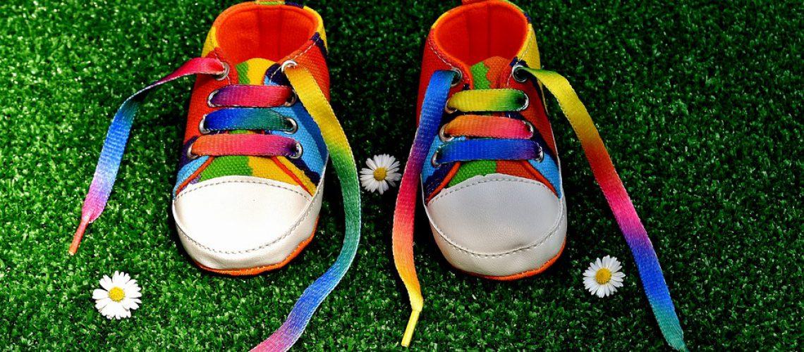 rainbow-colors shoes